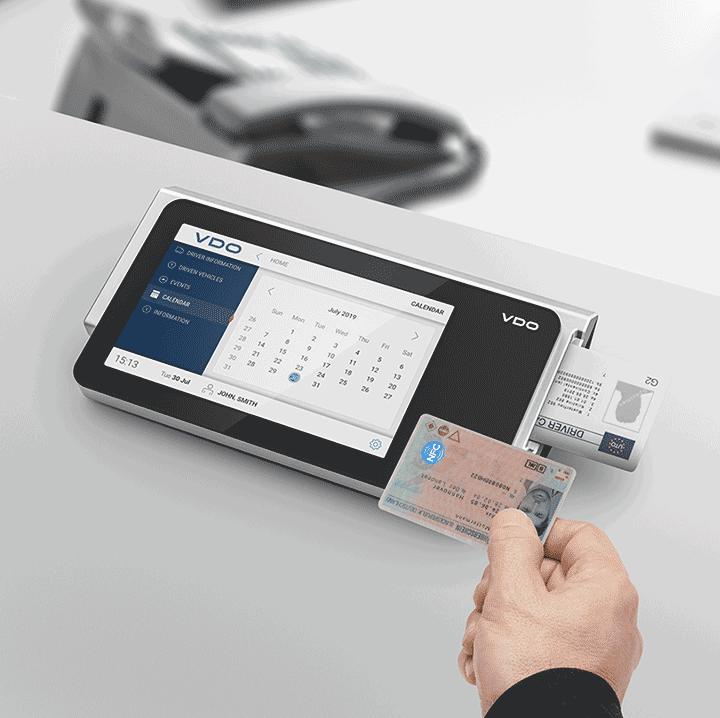 VDO Smart Terminal downloadkey en kaart uitlezen